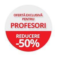 50% reducere la orice carte Litera pentru profesori