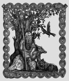 Norse Gods - Odin by fuzzy-head.deviantart.com on @deviantART