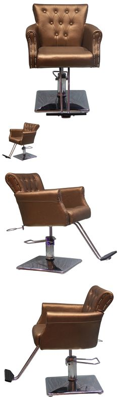 Stylist Stations and Furniture: Shengyu Gold Hydraulic Styling Barber Chair Hair Spa Beauty Salon Equipment -> BUY IT NOW ONLY: $249.99 on eBay!