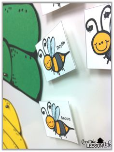 Wordless Wednesday~ Bee~havior management ideas Creative Lesson Cafe
