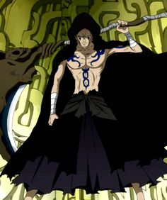 Erigor (エリゴール Erigōru) is one of the villains in Fairy Tail and the main antagonist of the Lullaby arc. He was the strongest member of the former Dark Guild Eisenwald and acted as its substitute leader in the absence of their imprisoned master. He became infamously known as the Death God (死神 Shinigami) due to being a Mage that only accepted assassination jobs. This epithet of him was supported by his weapon of choice, a scythe. Seven years later, Erigor escaped from imprisonment and became a.... Anime Characters List, Disney Characters, Fictional Characters, Anime Grim Reaper, Death God, Fairy Tail Anime, Shinigami, Fairy Tales, Anime Art