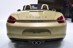 Легкий, быстрый, эффективный Porsche Boxster 2013–года
