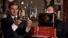 Rod Taylor The Time Machine Sitting At Controls 8X10 Photo Print