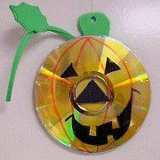 Recycle Reuse Renew Mother Earth Projects: Recycle old CD's into Art