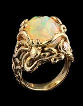 Image result for opal octopus rings