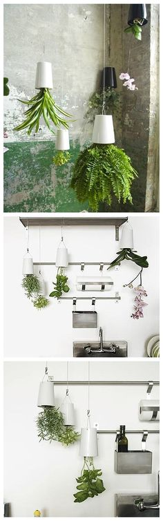 "Perfect Gardening Design Idea ""Upside Down Planter"