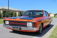 1971 Chrysler Valiant Pacer VG My Dad owned one of these same colour when i was old, was awesome Chrysler Charger, Dodge Chrysler, Australian Muscle Cars, Aussie Muscle Cars, Chrysler Valiant, Chrysler New Yorker, Ford Trucks, Hot Cars, Mopar
