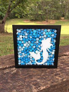 Check out this item in my Etsy shop https://www.etsy.com/listing/516305345/mermaid-shadow-box-mermaid-art-shadow