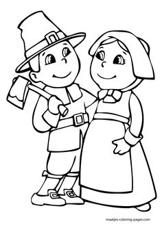 coloring pages thanksgiving | Free Thanksgiving coloring book pages you can print and color