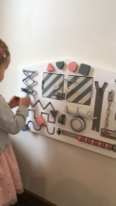 Learning can be easy and fun with our busy boards. Every feature helps with development. It boosts brain development t Educational Toys For Toddlers, Toddler Learning Activities, Infant Activities, Learning Games, Kids Learning, Busy Boards For Toddlers, Board For Kids, Diy For Kids, Diy Busy Board