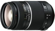 Click http://www.videonamics.com/lenses/sony-28-75mm-review/ for more reviews, product features, pricing and description of the Sony 28-75mm f/2.8 Smooth Autofocus Motor Lens.