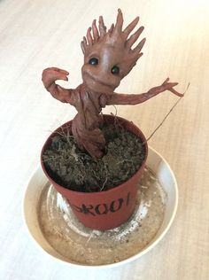 """I'm waiting for the day when the tree in my front yard taps on my window and says """"I am groot."""""""