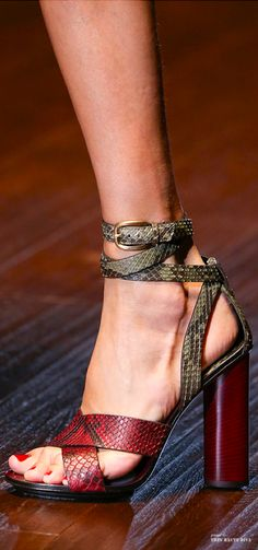 Exotic Skins | Gucci Spring Summer 2015 RTW detail | cynthia reccord | #impo