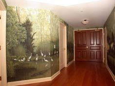 old florida wall mural - Google Search