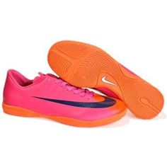 Popular Soccer Cleats Shoes Nike Mercurial Vapor Superfly II Victory IC In  Red Blue Orangeout of stock 4a32627874761