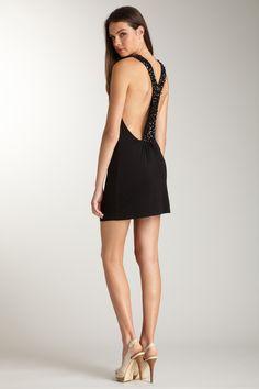Josh Brody  Jeweled Back Mini Dress  $48.00