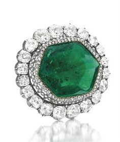 "The Catherine the Great Emerald and Diamond Brooch"" sold for $1,650,500 at Christies in April 2011."