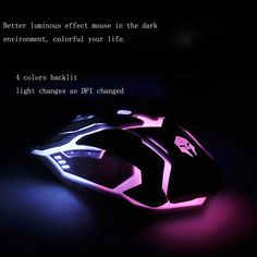 Since I got the cool #gamingmouse, I has been spent more time setting in front of the computer even I did not play game, because the mouse really gives me the unique hand feeling once I hold it.