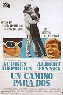 Posteritati: TWO FOR THE ROAD 1967 Argentine 1 Sheet (29x43)