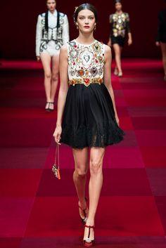 Spring 2015 RTW : Milan Fashion Week : Dolce & Gabbana