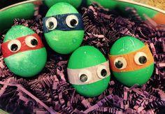 TMNT Easter a Eggs
