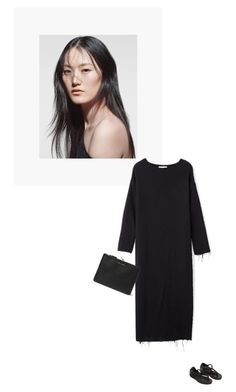 """/"" by darkwood ❤ liked on Polyvore featuring Yohji Yamamoto and Comme des Garçons"