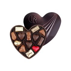 Corné Port-Royal Filled Chocolate Heart Dark, 380 g - Belgian chocolates for Valentine's Day