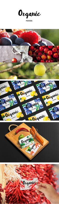 Organic Foods Branding on Behance