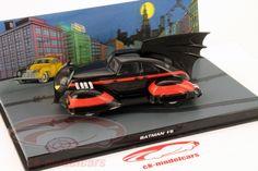 CK-Modelcars - BAT1941#9: Batmobile Batman #5 1941 schwarz / rot 1:43 Ixo AltayaHersteller: Ixo Maßstab: 1:43 Fahrzeug: Batmobile Baujahr: 1941 Artikelnummer: BAT1941#9 Farbe: schwarz / rot