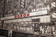 Newcastle's Odeon cinema: Rare photos and original plans of city centre landmark - Chronicle Live Old Photographs, Rare Photos, Interesting Buildings, Pilgrim, Newcastle, Jazz, Centre, Bands, Cinema