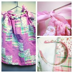 Adorable pillowcase dress made by Shawna, here at Jo-Ann, for her daughter :) #sew