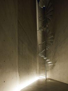 APOLLO Architects & Associates SDB25 Spiral Staircase