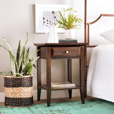 Coventry 1-drawer Nightstand | Overstock.com Shopping - The Best Deals on Nightstands