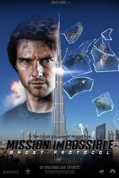 Mission Impossible 4 - poster by AndrewSS7.deviantart.com