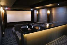 Double the Fun: Twin Home Theater Systems - Electronic House theater rooms basements