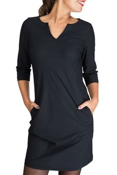 38 ideas clothes for women black casual for 2019 Mode Outfits, Trendy Outfits, Fashion Outfits, Black Dress Accessories, Black Dress Outfits, Black Noir, Black Dress With Sleeves, Autumn Fashion Casual, Trendy Clothes For Women