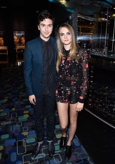 WHO: Cara Delevingne  WHAT: Giamba  WHERE: Canadian premiere of Paper Towns  WHEN: July 23, 2015