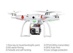 Professional 4 Axis 6 Channel 5.8ghz Fpv Camera Drones Rc Quadcopter Helicopter With Hd Aerial Filming Gps Auto Pilot Quadcopter Camera Drone Quadcopter From Ecig_vendor, $508.91| Dhgate.Com