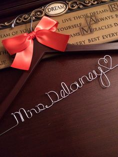 Personalized Wedding Hanger | Hanger Design Center
