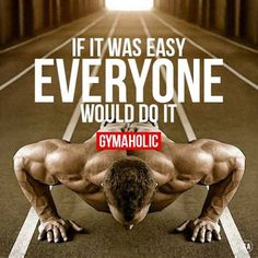 Gymaholic motivation to help you achieve your health and fitness goals. Try our free Gymaholic Fitness Workouts App. Sport Motivation, Motivation Sportive, Fitness Motivation Quotes, Weight Loss Motivation, Lifting Motivation, Fitness Workouts, Sport Fitness, Easy Workouts, Mens Fitness