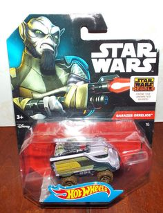 Hot Wheels Star Wars Rebels GARAZEB ORRELIOS New #Mattel