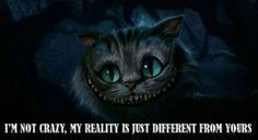 I want a Cheshire Cat tattoo.