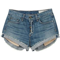Rag & Bone Marilyn Fly Shorts ($100) ❤ liked on Polyvore featuring shorts, bottoms, pants, short, weston, cotton stretch shorts, stretchy shorts, short shorts, stretch shorts and rag bone shorts