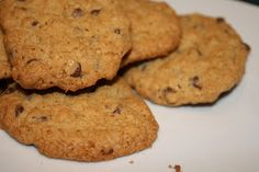 a day in the kitchen of...: oatmeal-flax chocolate chip cookies