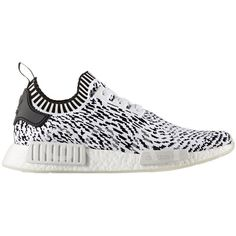 wholesale dealer 6e830 2dcaf bz0219 Nmd r1 Pk ( 181) ❤ liked on Polyvore featuring men s fashion, bianco