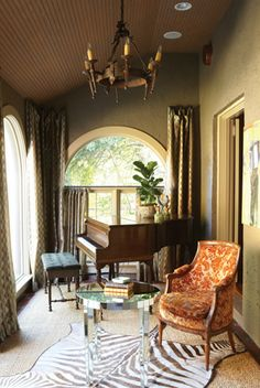 J Edwards Interiors Was Featured In Birmingham Home Garden Jan Feb 2012 Piano Room DecorBaby Grand