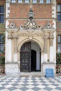 H house entrance