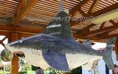 Haifisch Pinata, Bastelanleitung, selber machen, Pinata