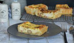 Tarte aux champignons et lardons – Des recettes à Gogo – Recettes Maison – Simples – Veggies by Gogo