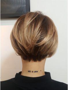 Hair Color And Cut, Cut My Hair, New Hair, Short Hair With Bangs, Short Hair Cuts, Short Hair Styles, Bob Style Haircuts, Girl Haircuts, Bridal Hairdo